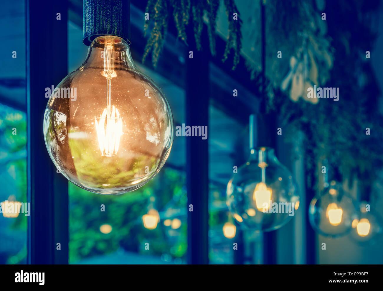 Luxus Beleuchtung Dekoration Stockfoto