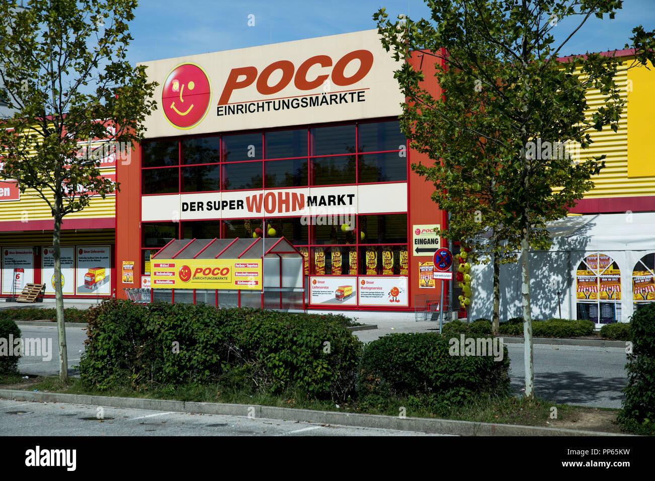 Ein Logo Zeichen Außerhalb Einer Poco Eigenschreibweise Poco