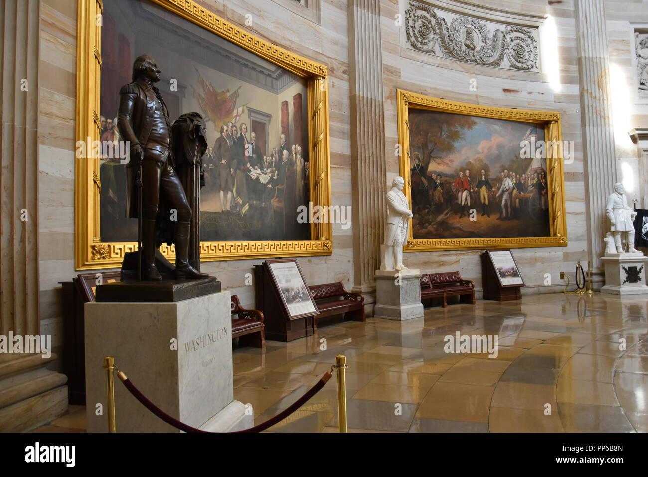 Sehenswürdigkeiten Gesehen Auf Der Tour Des United States Capitol