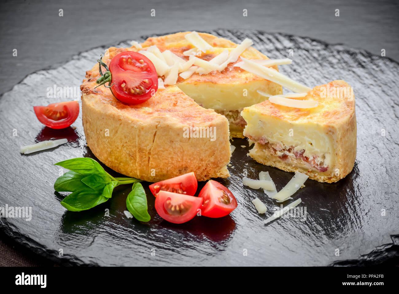 Gesundes Essen Leckeren Kuchen Mit Verschiedenen Fullungen
