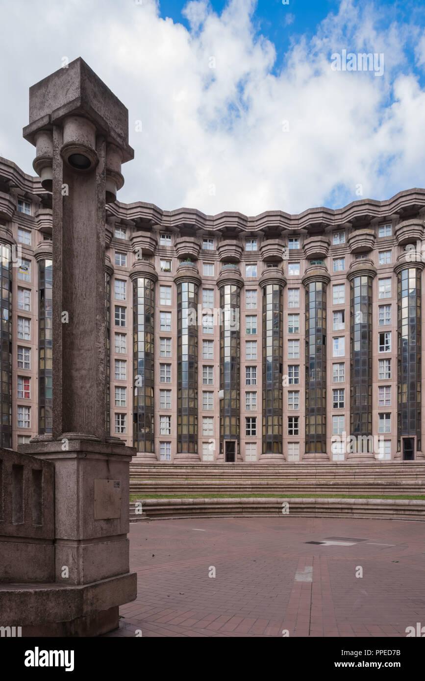 Paris, Noisy-le-Grand Mont d'Est, Espaces d'Abraxas, Le Theater Stockbild