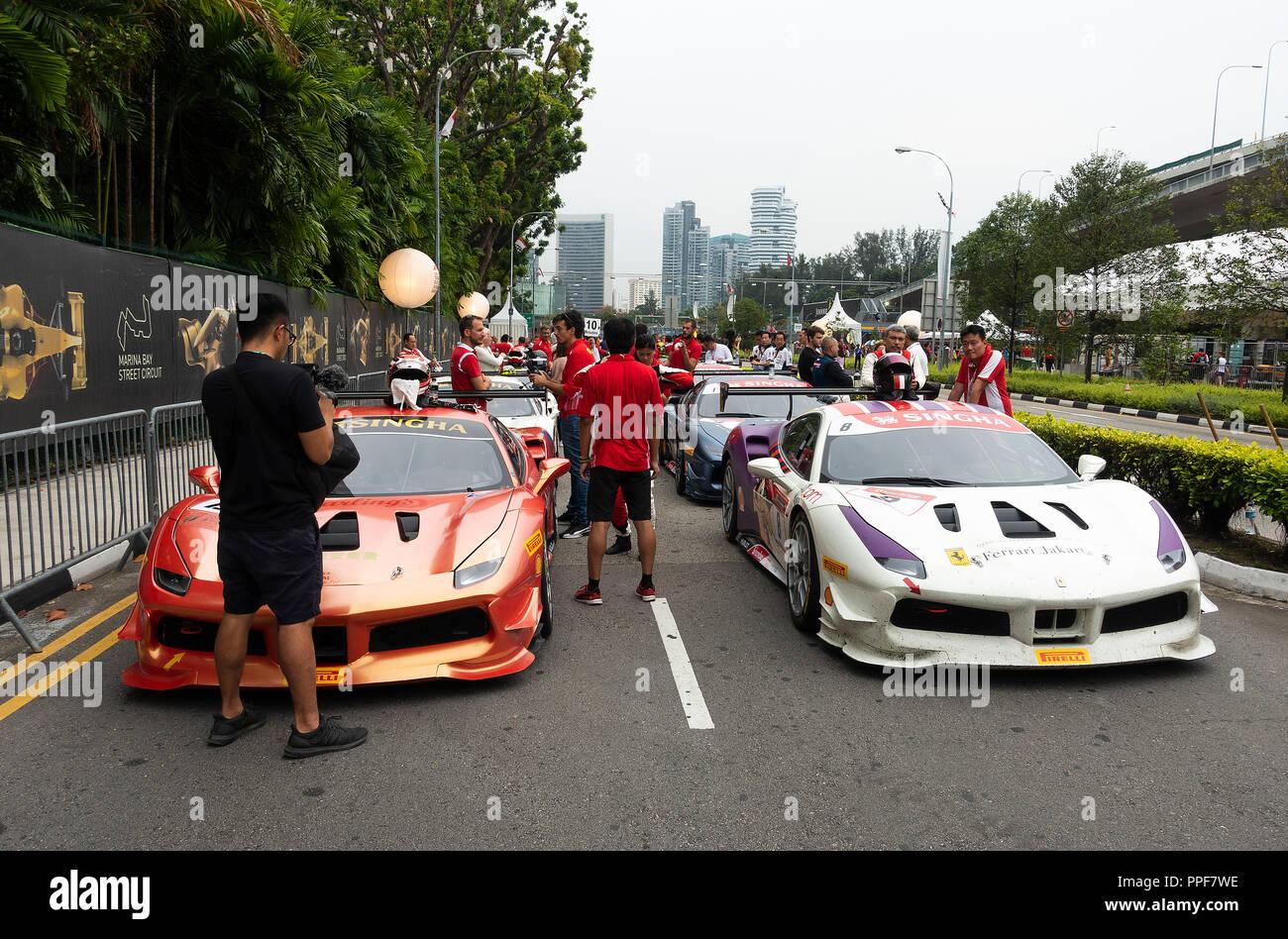 Ferrari Challenge Stockfotos Und Bilder Kaufen Alamy