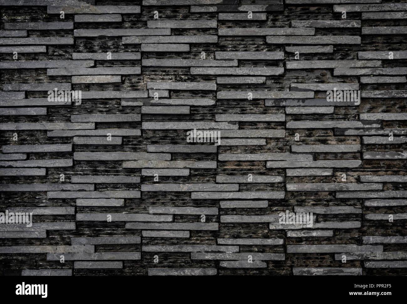 moderne schwarz wei e rechteck fliesen hintergrund hellgrau vintage stone dekorativen textur. Black Bedroom Furniture Sets. Home Design Ideas