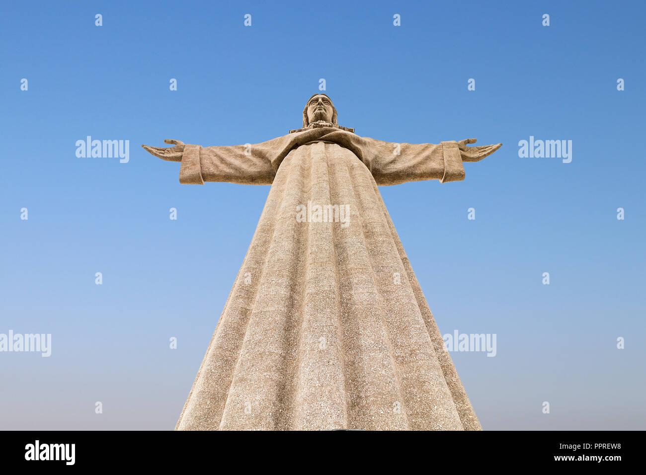 Lissabon, Portugal - Dezember 6, 2017: Heiligtum von Christus, dem König, Stockbild