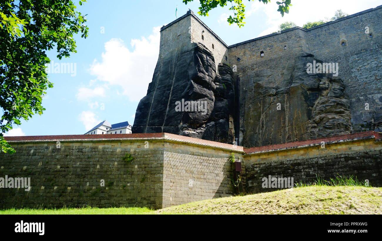 Kazimierz Dolny an der Weichsel - Kazimierz Dolny in Polen Stockbild