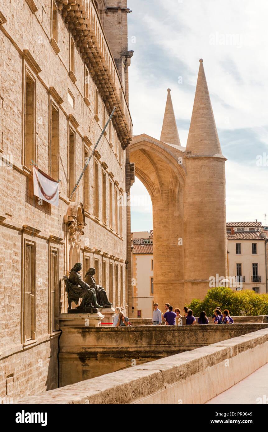 Universität von Montpellier, Fakultät für Medizin, der weltweit älteste medizinische Schule noch in Betrieb. Frankreich Stockbild