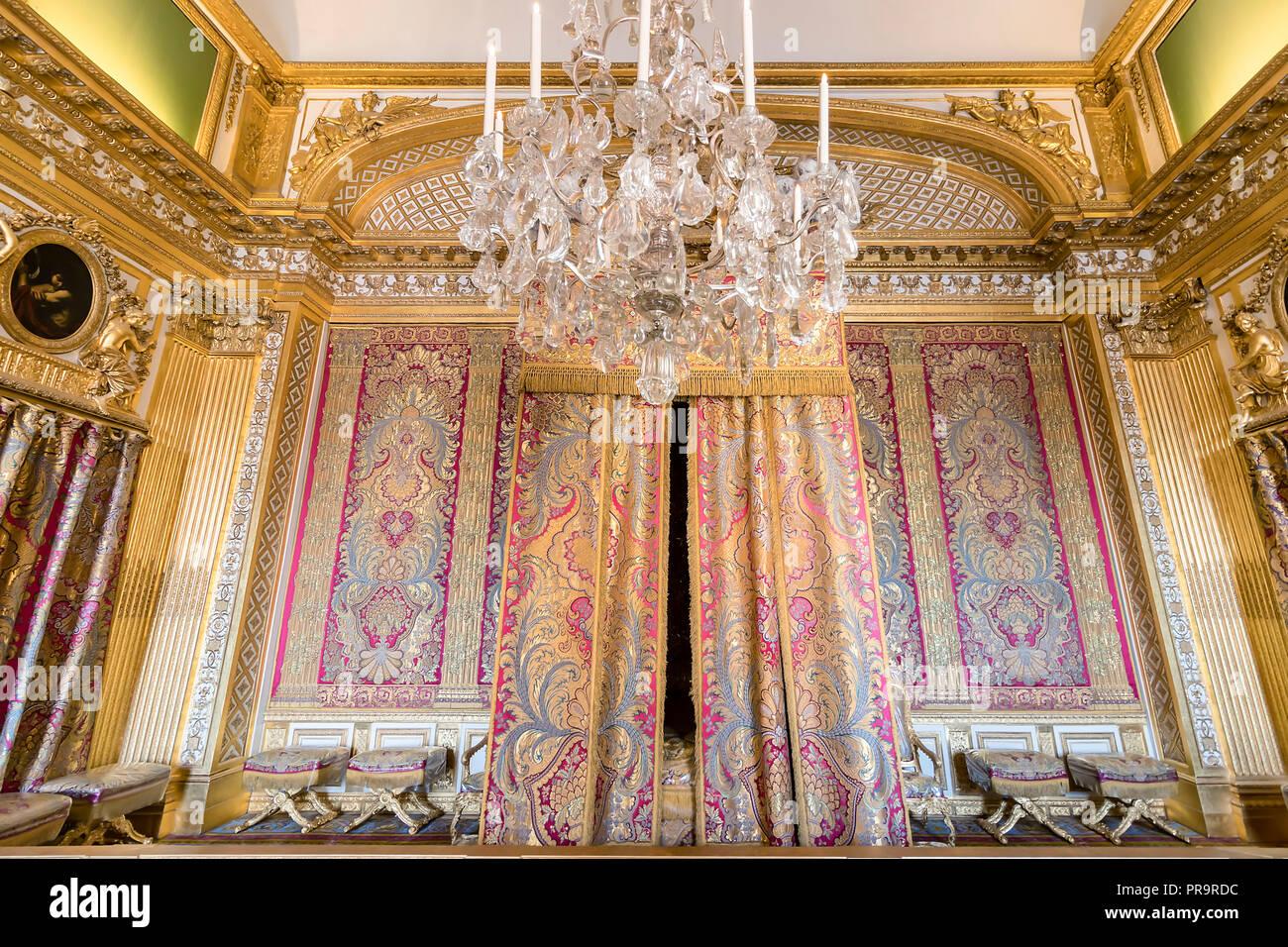 Bedroom Of Louis Xiv Stockfotos & Bedroom Of Louis Xiv ...