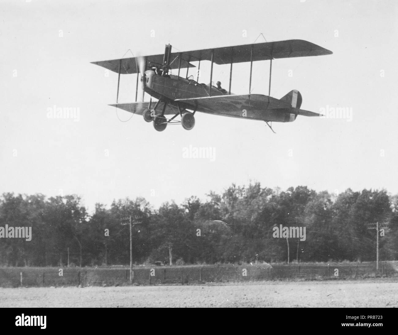 Halterung Airport- Able Vintage Große Rp Airplane Frühe Luft Reisen Biplane