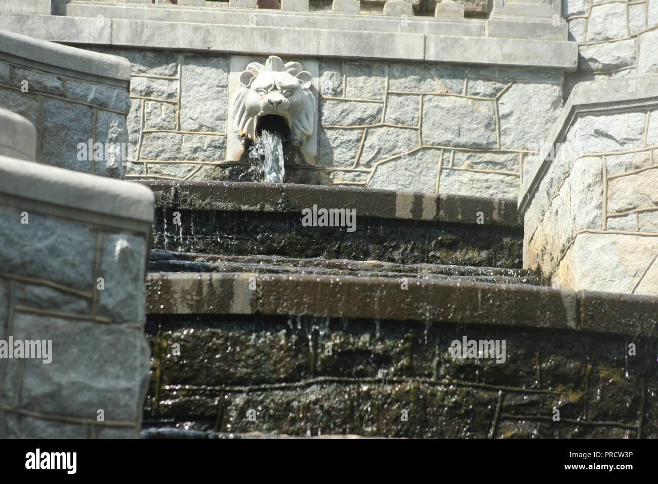Terren Springbrunnen | Cascading Fountain Stockfotos Cascading Fountain Bilder Alamy