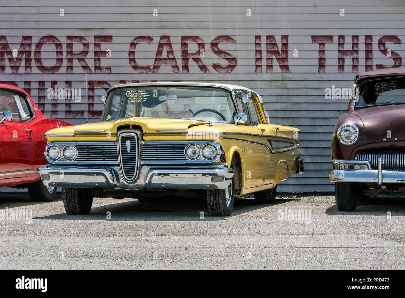 Ford Edsel Country Classic Cars Gmbh Autohaus Auf Der Route 66