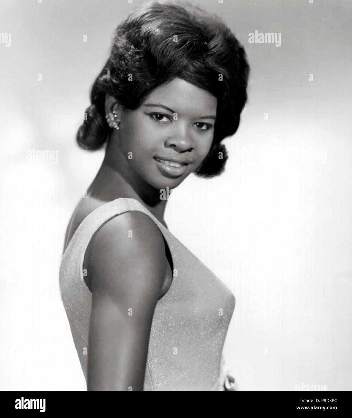 IRMA THOMAS Werbefoto der amerikanischen Seele Sänger über 1964 Stockbild