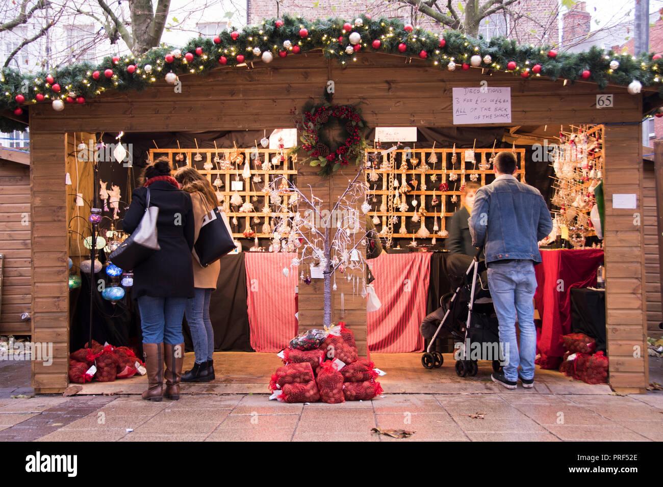 York Uk Christmas Market Stockfotos & York Uk Christmas Market ...