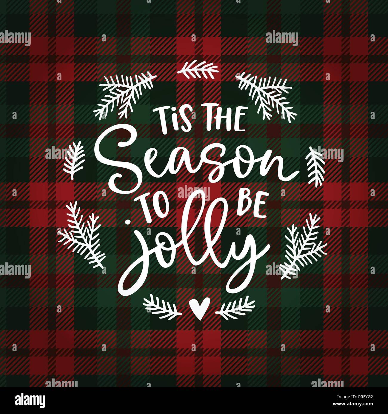 Tannenbaum Lustig.Tis Die Jahreszeit Lustig Zu Sein Weihnachten Grußkarte Einladung