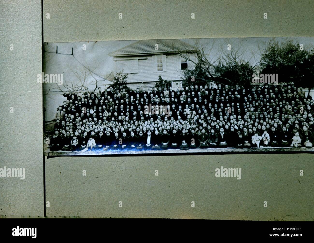 Jahrgang, authentische Archivierung Foto, 1965. () Stockbild