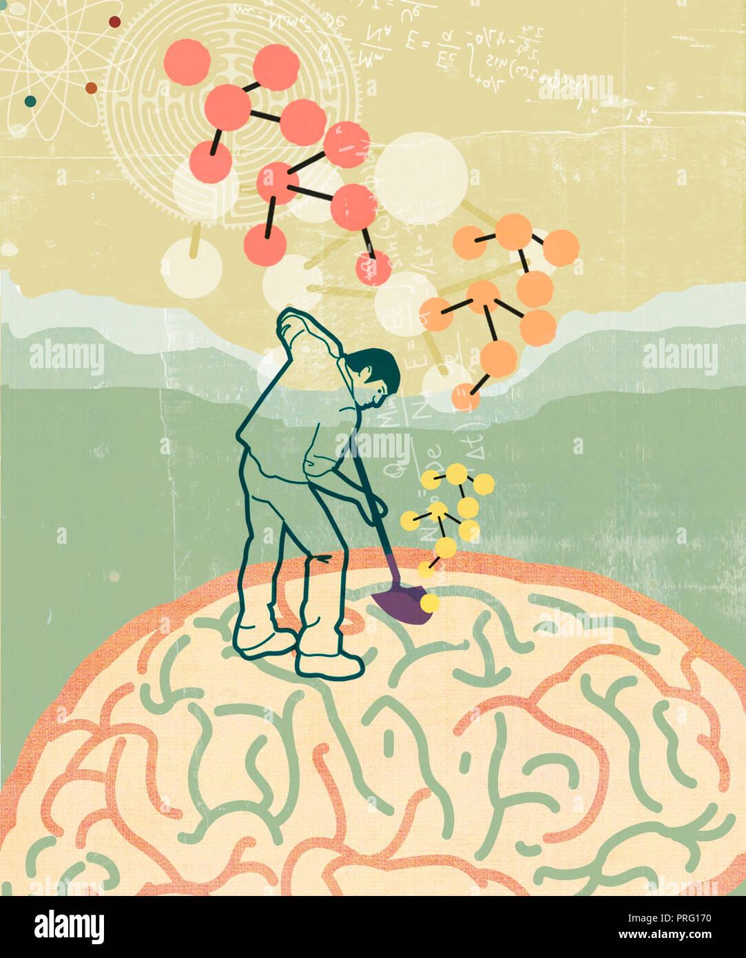 Psychologe Stockbild