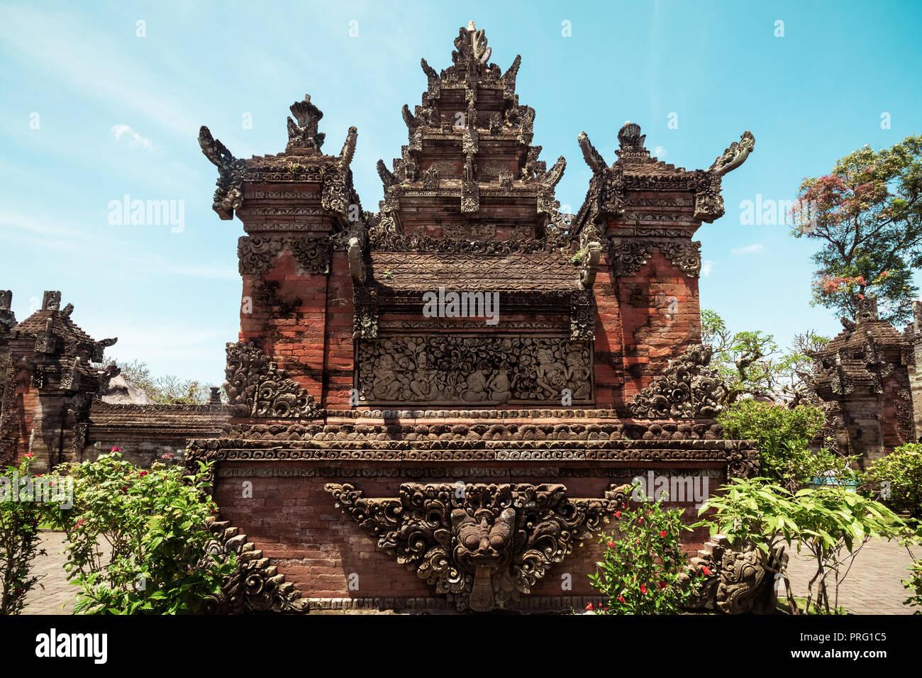 Puseh Batuan Tempel auf Bali, Indonesien. Stockfoto