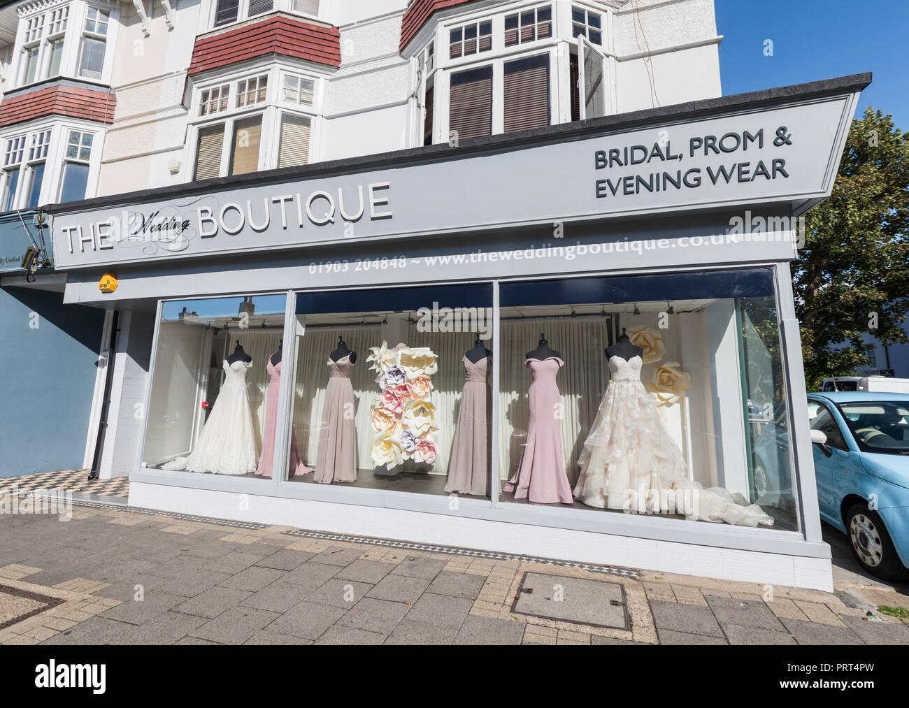 Die Hochzeit Boutique Shop Verkauf von Braut-, prom Kleidung in