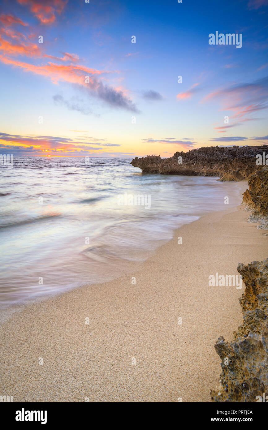 Gnarabup Beachscape Stockbild