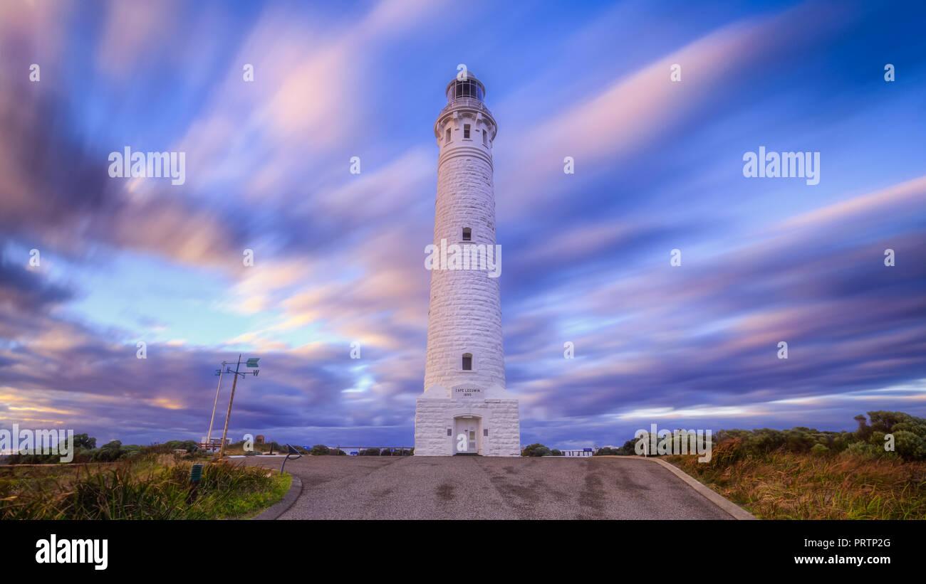 Cape Leeuwin Leuchtturm Stockbild