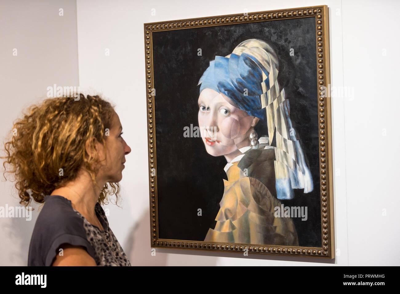 After Vermeer Stockfotos After Vermeer Bilder Alamy