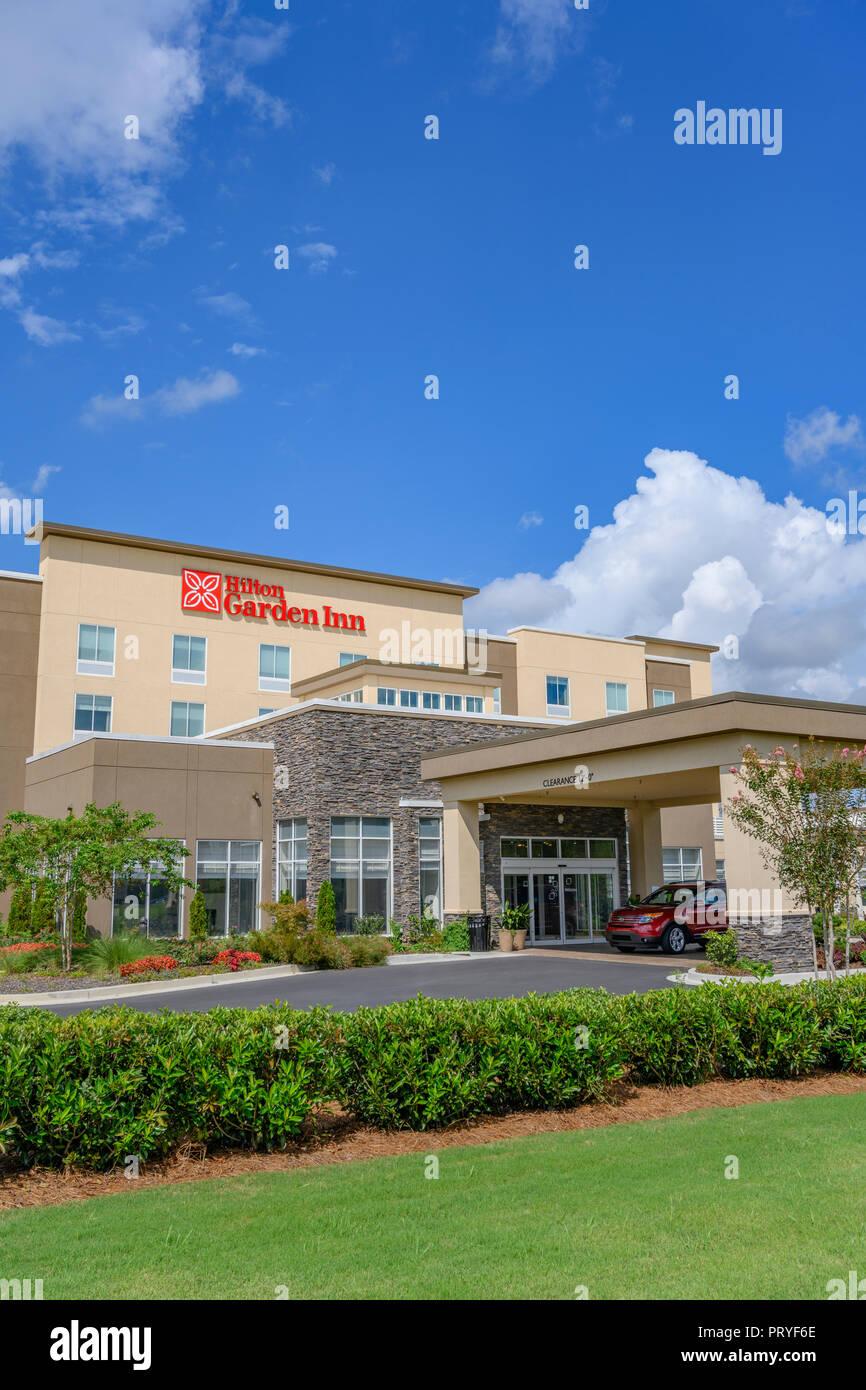 Hilton Garden Inn Hotel Oder Motel Vorne Aussen Eingang In