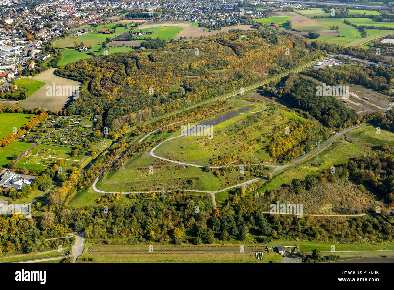Herringen, tip Kissinger Höhe, verderben Tipp, Hamm, Ruhrgebiet, Nordrhein-Westfalen, Deutschland Stockbild