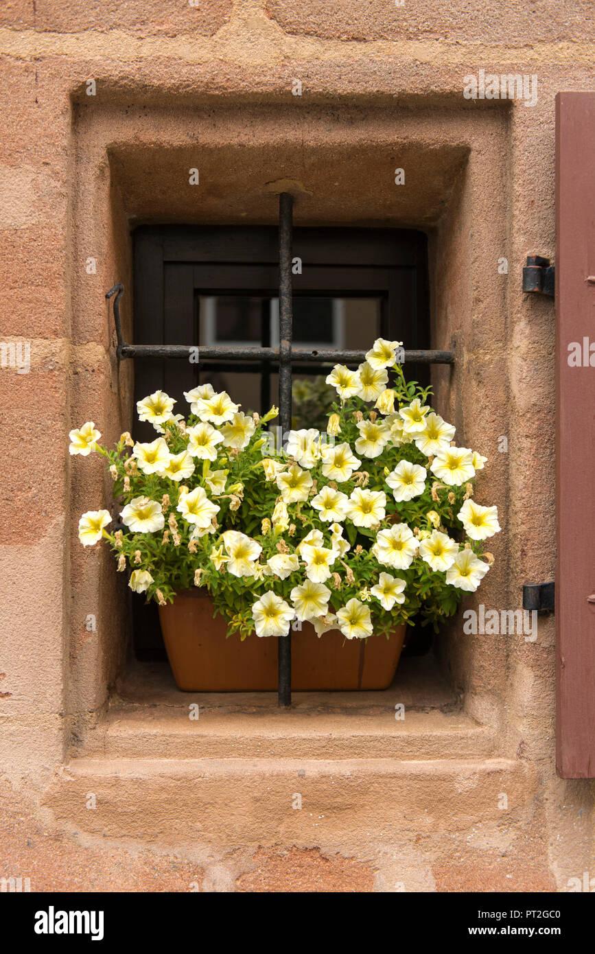 Fenster Blumenkasten Stockfotos Fenster Blumenkasten Bilder Alamy