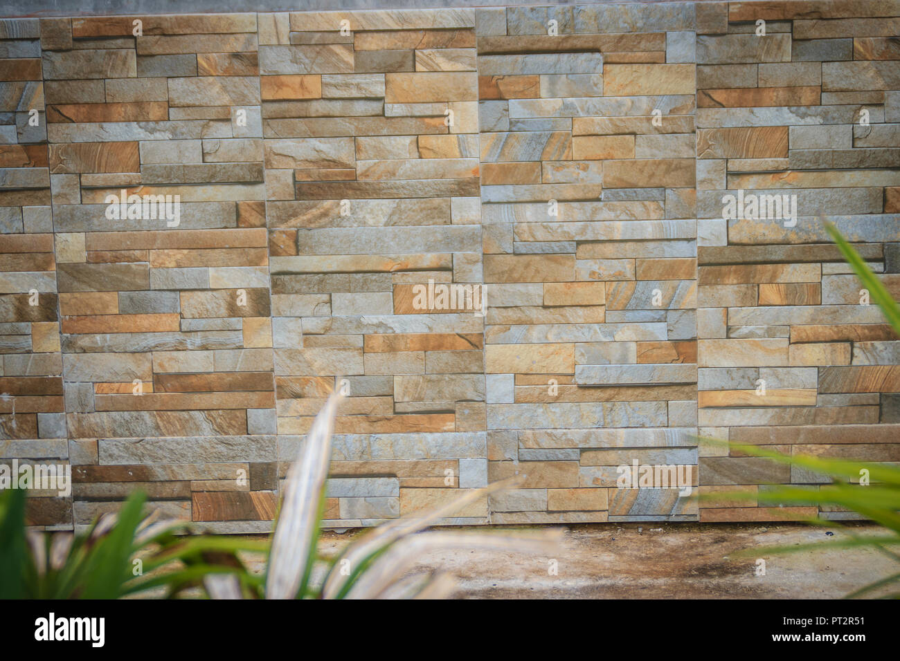 Wandfliesen Wie Naturliche Split Stein Gemusterten Hintergrund