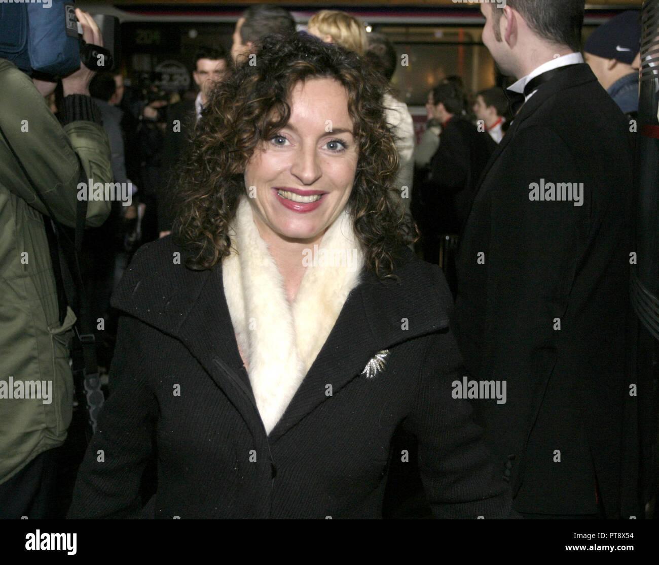 Gillian Berrie ist eine berühmte schottische Preisgekrönte, erfolgreich, Filmproduzent und ist verantwortlich für die Einrichtung des Sigma Produktionsfirma. Stockbild