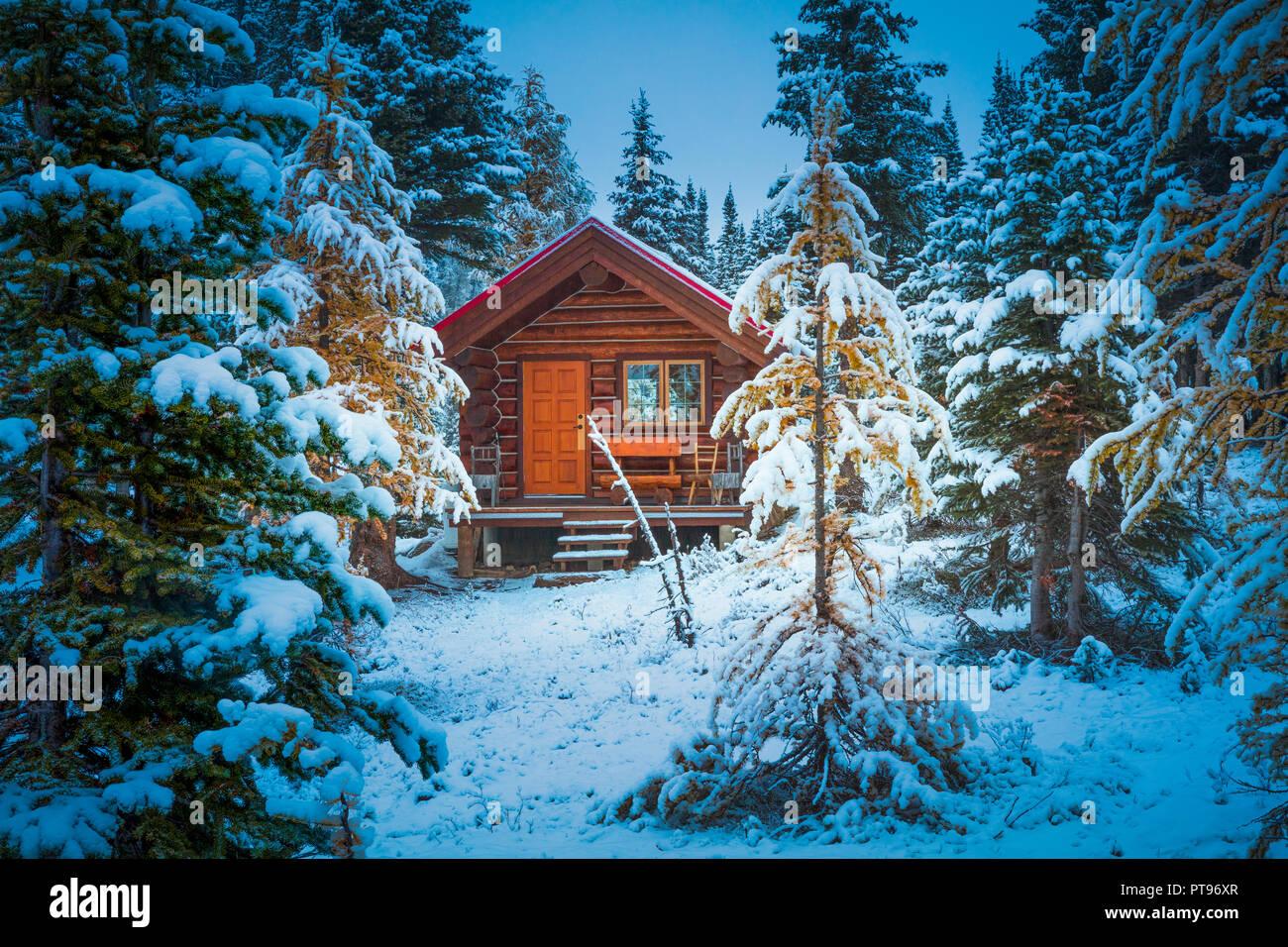 Mount Assiniboine Provincial Park ist ein Provincial Park in British Columbia, Kanada, um Mount Assiniboine gelegen. Stockbild