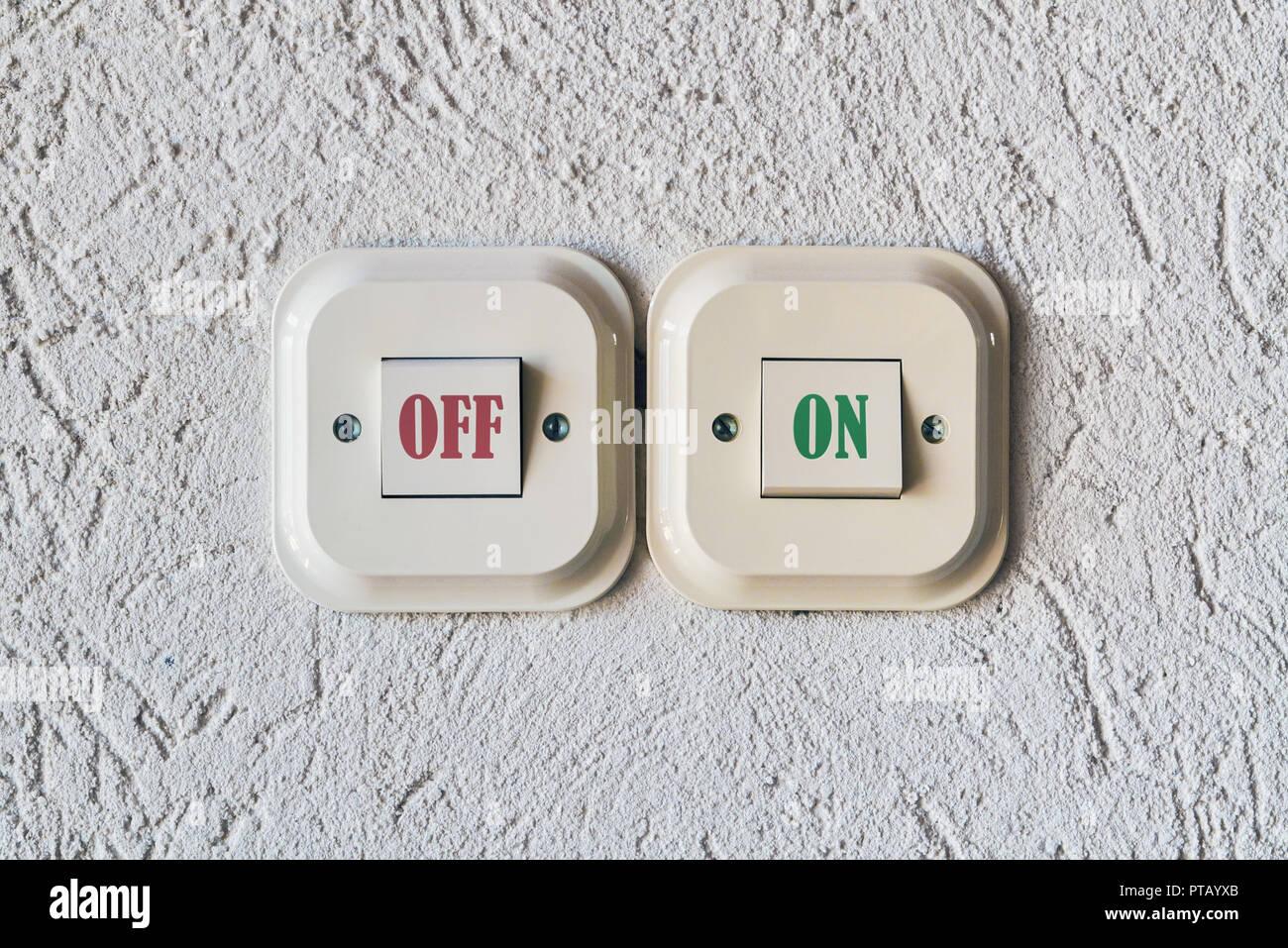 Zweispuren-Lichtschalter Firma aus århus