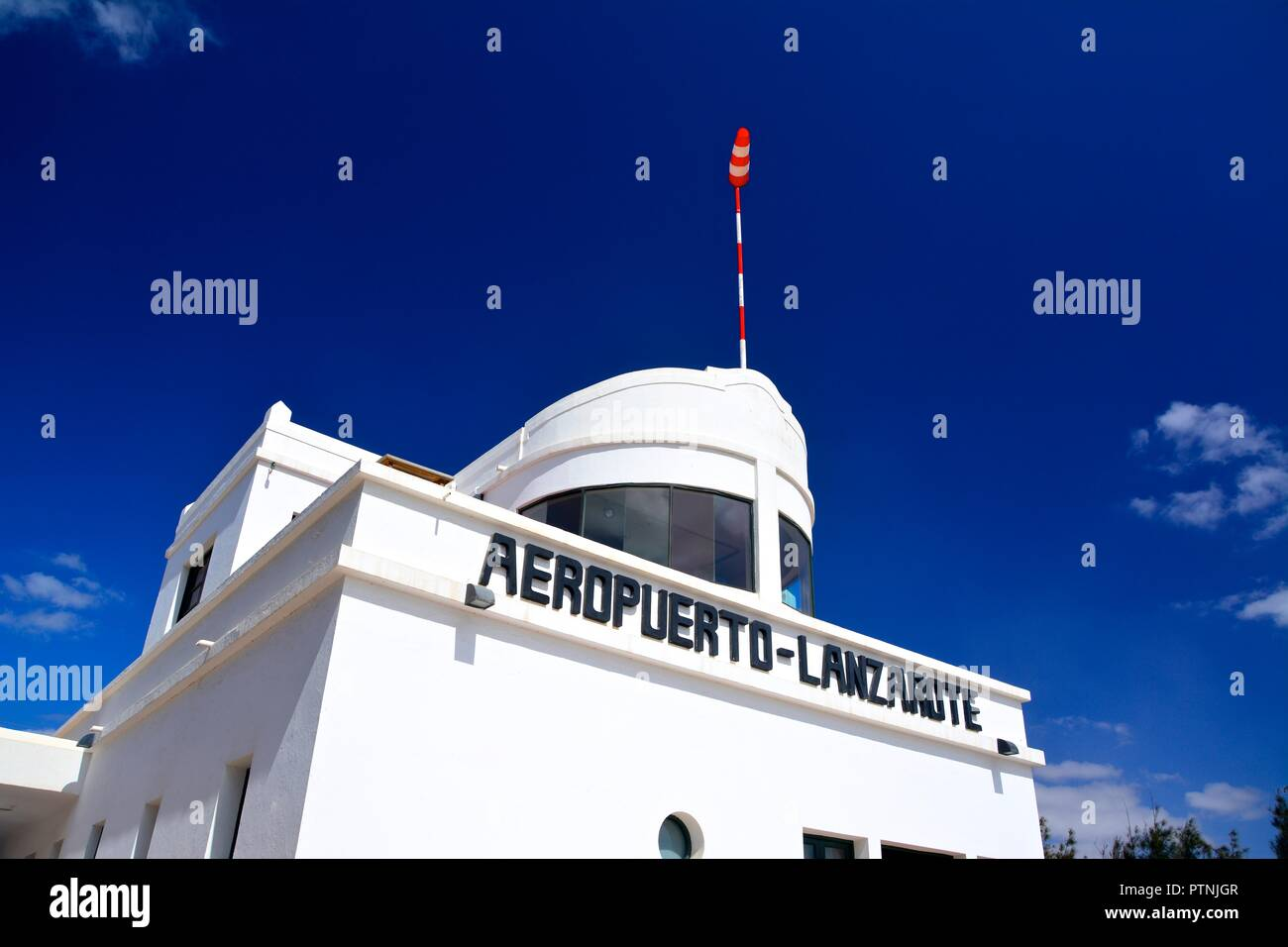 Lanzarote Historia. Stockbild