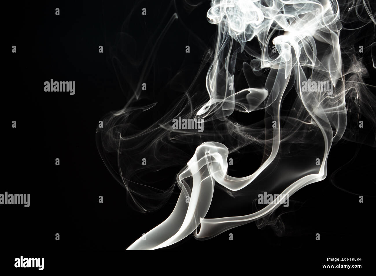 Rauch, Rauch, Qualm Stockbild