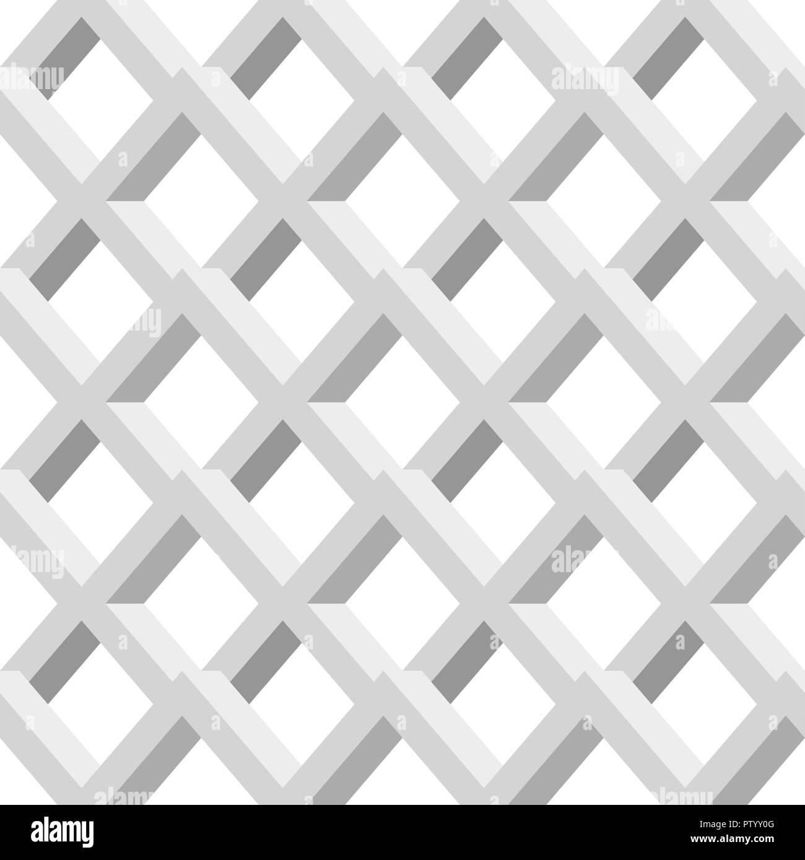 Graues Raster Zusammenfassung Nahtlose Geometrische Muster Vektor