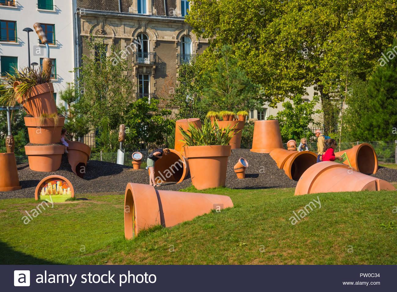 Nantes, Jardin des Plantes, Spielplatz Depodepo von Claude ...