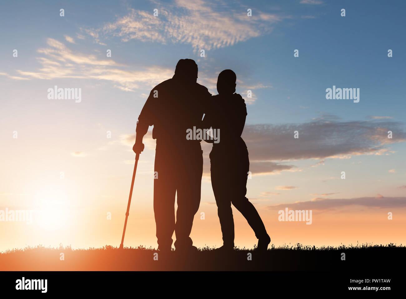 Morgendämmerung behinderter Dating