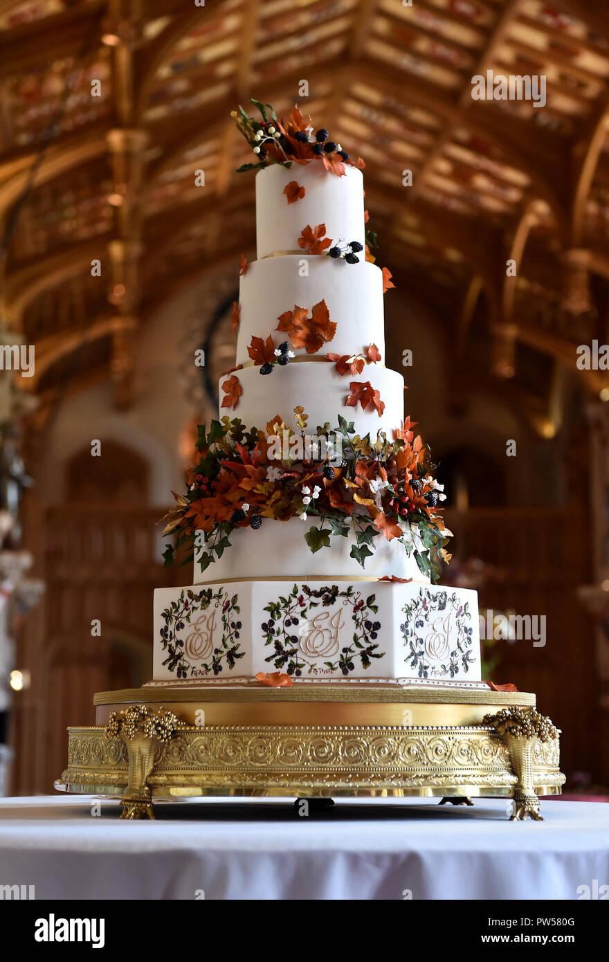 Die Hochzeitstorte Von Sophie Cabot Fur Die Hochzeit Der Prinzessin