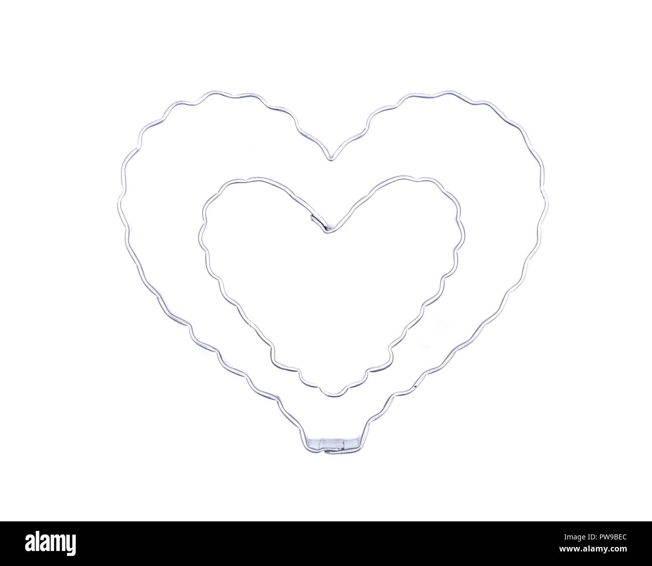 Edelstahl Herzformiges Geschenk Kekse Form Schneiden Schimmel