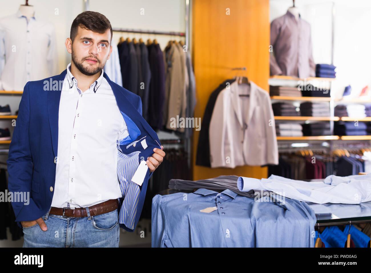 pretty nice 39046 cdd46 Glückliche Menschen Kunden Auswahl Jacke in Männer kleidung ...