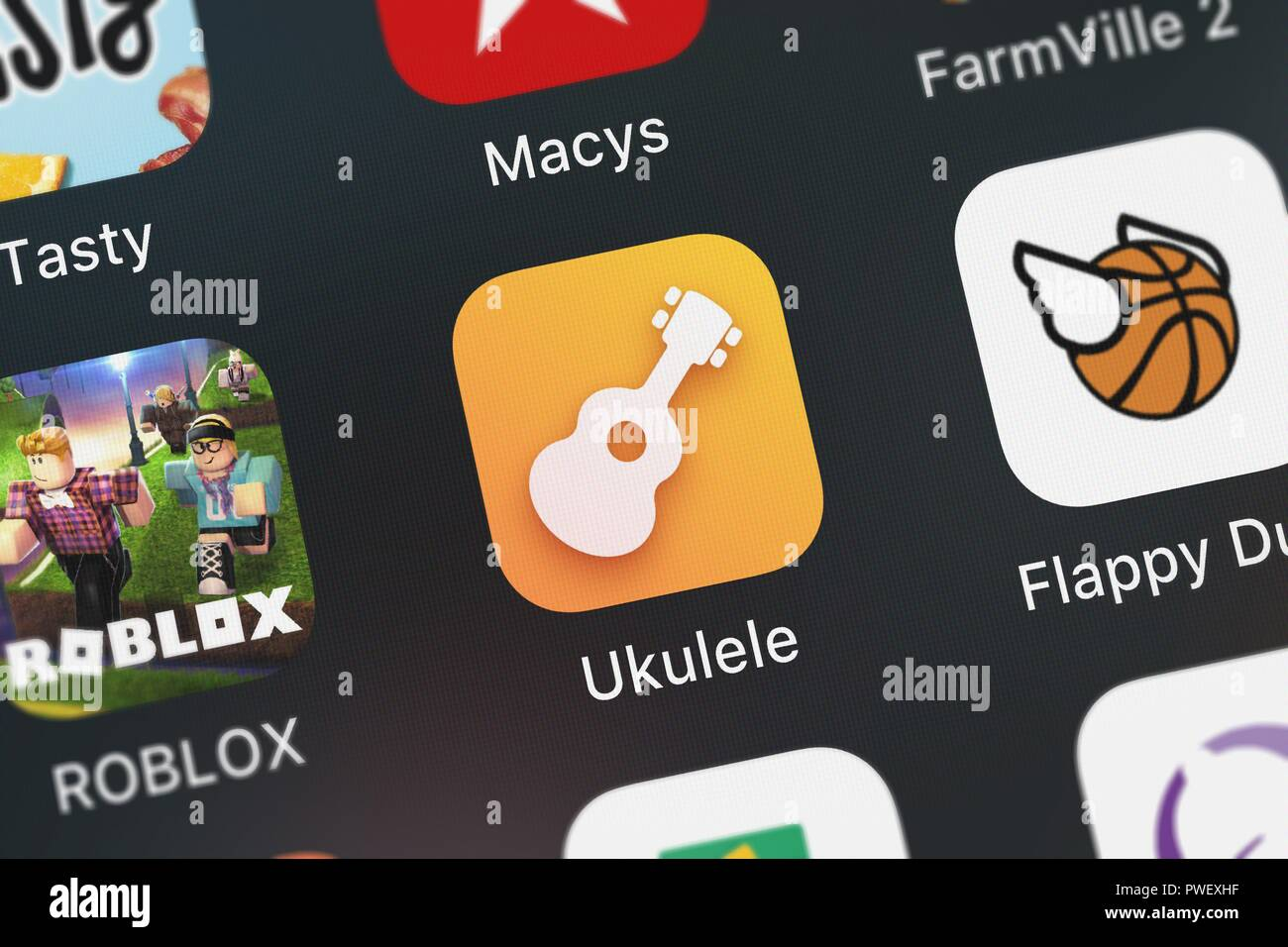 Ukulele Songs Stockfotos & Ukulele Songs Bilder - Alamy