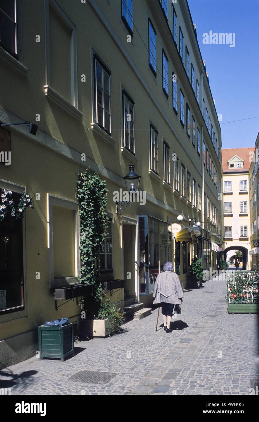 Wien Hotel Wien Hotel Biedermeier Biedermeier Stockfoto Bild