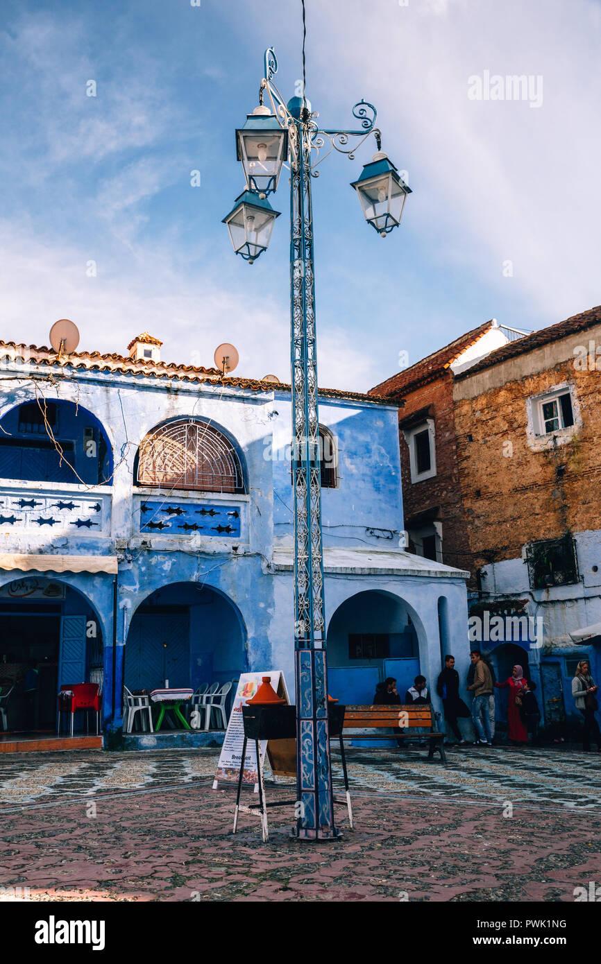 Chefchaouen, Marokko, 2018 Stockbild