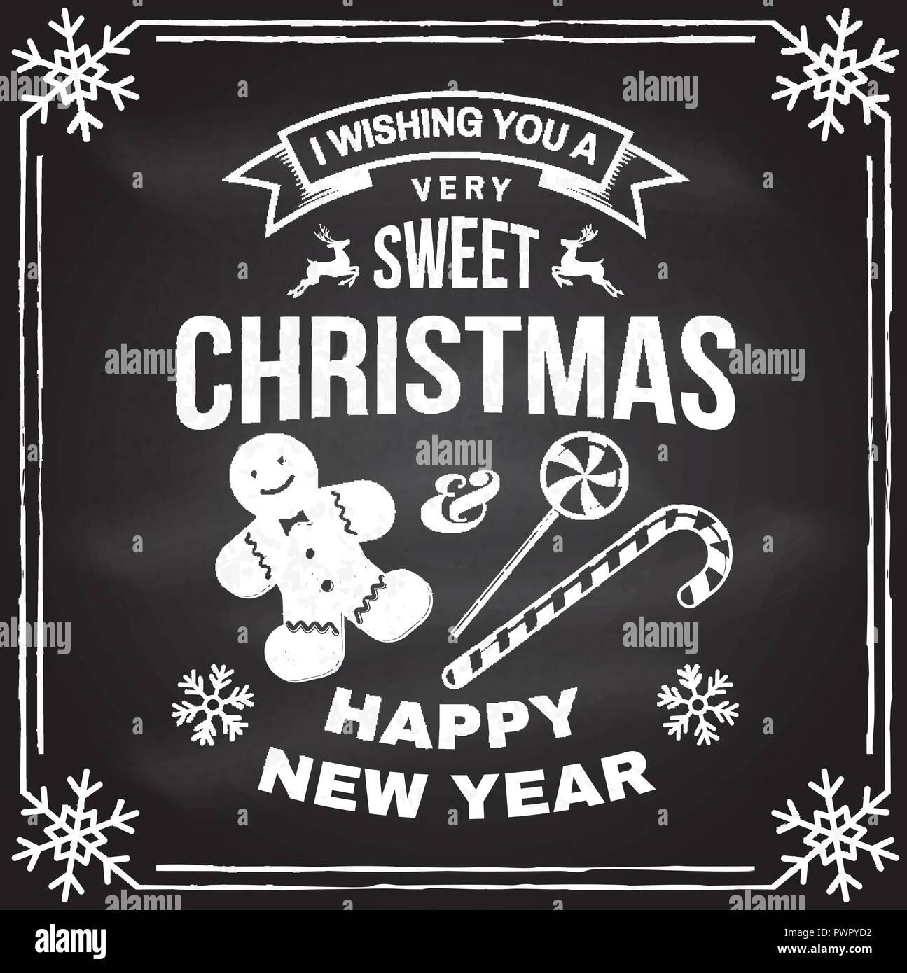 Ich wünsche Ihnen eine sehr süße Weihnachten und ein glückliches ...