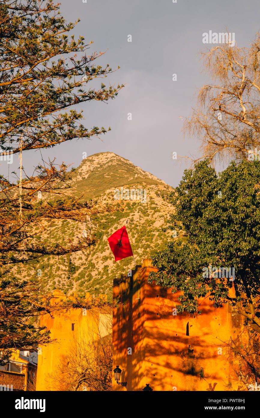 Chaouen, Chefchaouen, Königreich Marokko, 2018 Stockbild
