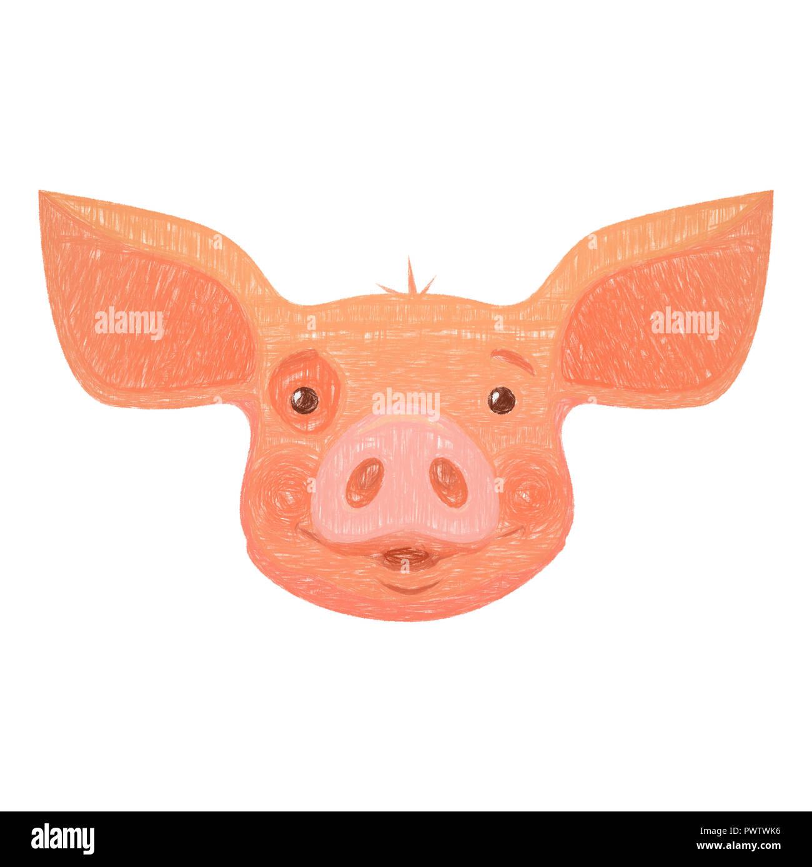 Cartoon Pig Stockfotos Cartoon Pig Bilder Seite 3 Alamy
