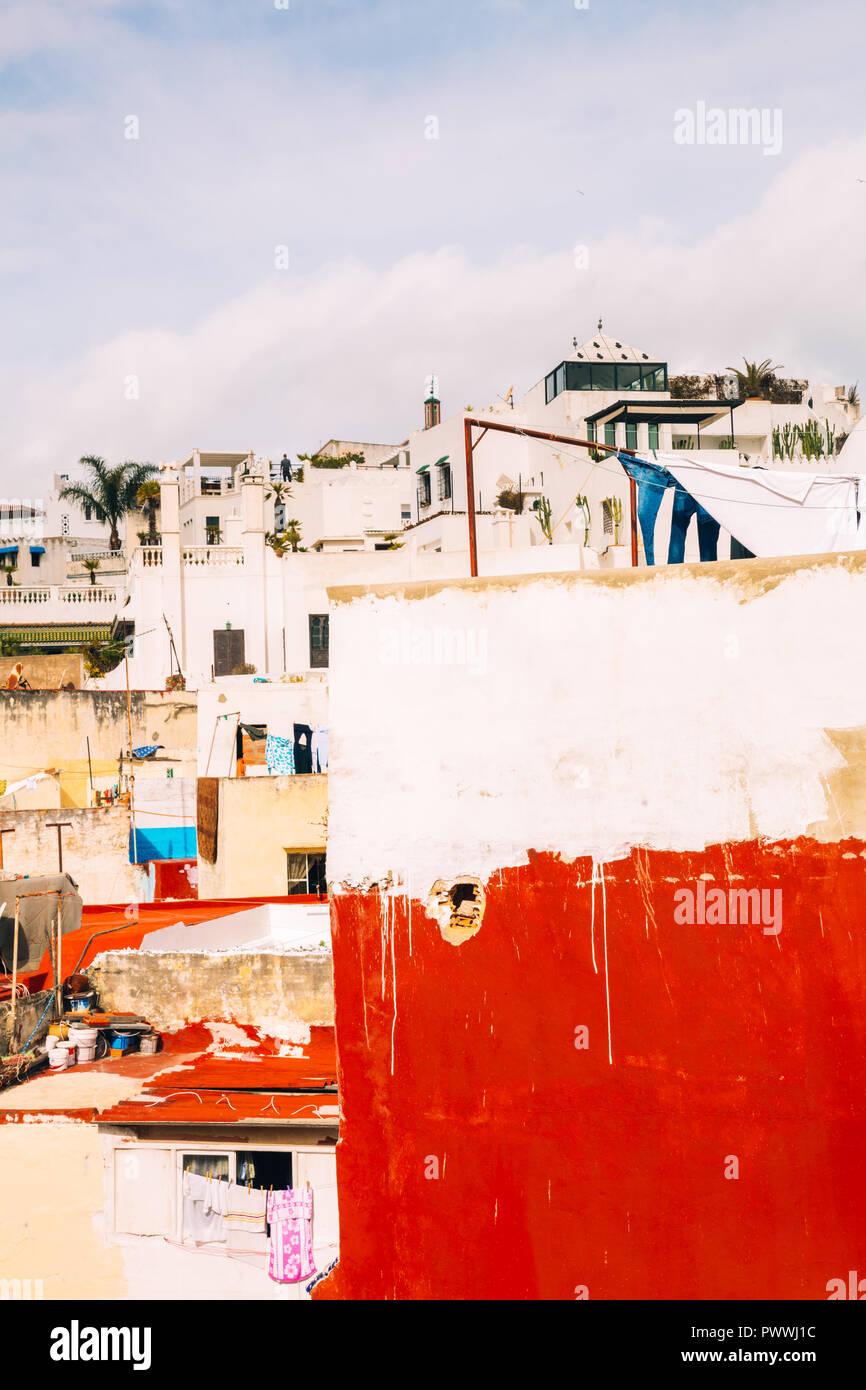 Tanger, Marokko, 2018 Stockbild