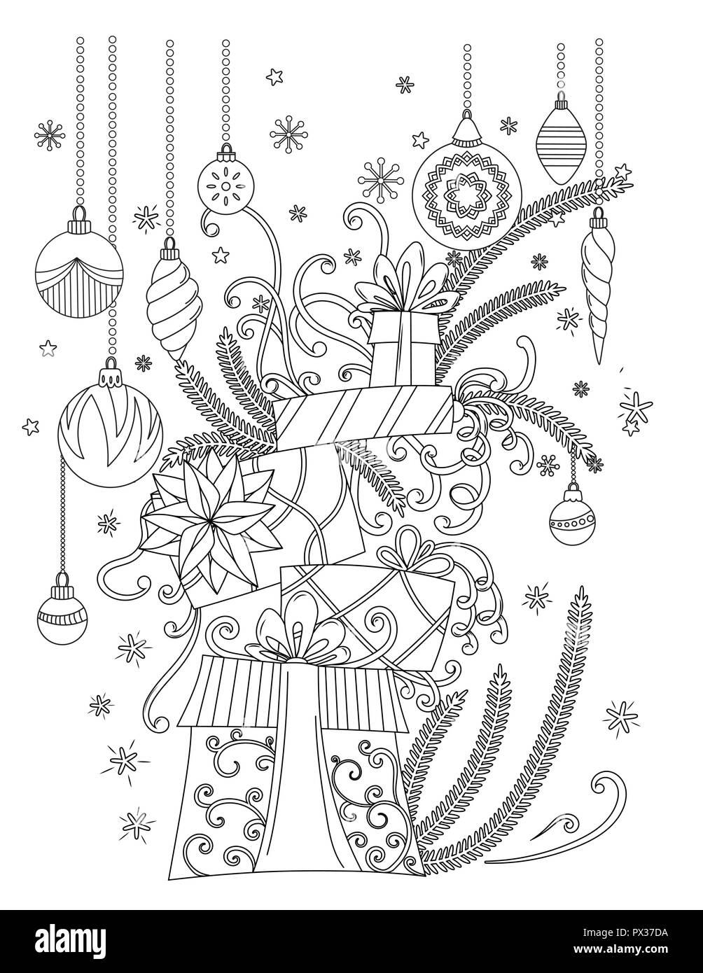 weihnachten malvorlagen malbuch für erwachsene stapel