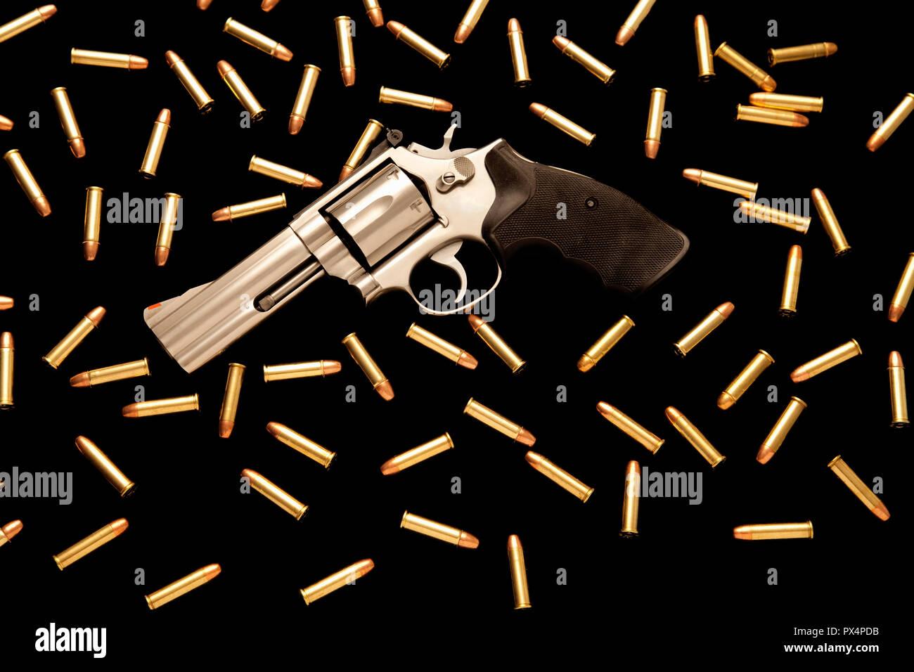 Waffen und Munition Stockbild