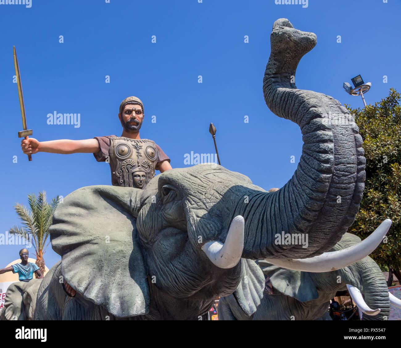 Hannibal Barca Von Karthago Und Der Krieg Der Elefanten Tunesien
