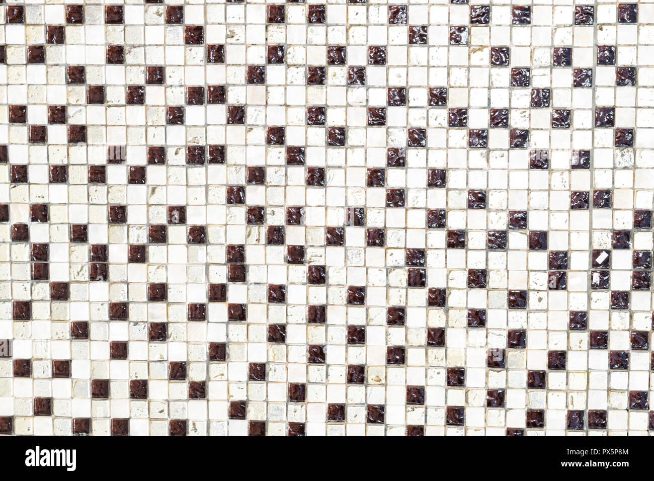 Fußboden Aus Kleinen Steinchen ~ Keramische steinchen hintergrund quadratische fliesen dekorative